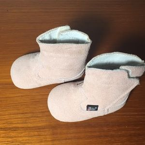 Justin Baby Boots Pink leather size 2